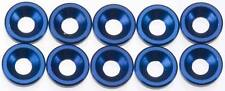 Associated 89229 Blue Countersunk Washer (10) SC8 RC8.2e SC10 RC10T4 RC10B4