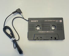 Sony Walkman Car Connecting Pack Cpa-7 Cassette Adapter Mp3 Cd Genuine 3.5mm