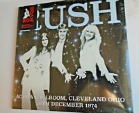RUSH Agora Ballroom December 1974 LP 2016 new mint sealed coloured vinyl 180g