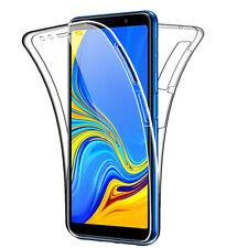 SDTEK Samsung Galaxy A7 (2018) 360 Doble Delantera Funda Silicona