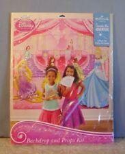 Disney Princess Photo Kit Backdrop and Props Party Supplies Free Shipping