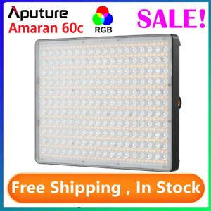 Aputure Amaran P60c RGBWW LED Video Light Panel 2500K-7500K Photography Lights