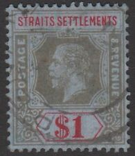 George V (1910-1936) Used Singles Settlements Stamps