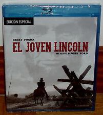 EL JOVEN LINCOLN EDICION ESPECIAL BLU-RAY+DVD NUEVO PRECINTADO (SIN ABRIR) R2