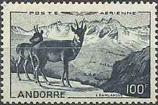 Timbre Animaux Andorre PA1 ** lot 14382