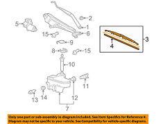 Lexus TOYOTA OEM 06-07 GS430-Wiper Blade 8521233231