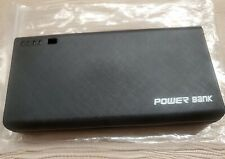 External 4 USB 20000mAh Power Bank LED Backup Battery Charger For iPhone Samsung