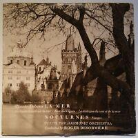 """Debussy La Mer Nocturnes Czech Philharmonic Roger Desormière Supraphon 14 10"""""""