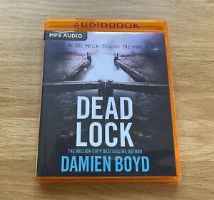 MP3 CD Audio Book – Dead Lock by Damien Boyd