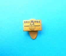 XXII MITROPA CUP 1964. Italy football soccer vintage enamel buttonhole pin badge