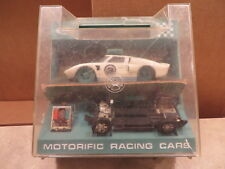 Motorific Slot Car Ford Gt With Case