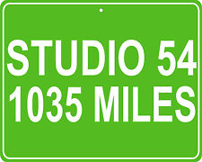 Studio 54 Nightclub - distance from your house