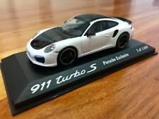 1/43 Minichamps Porsche 911 Turbo S White Porsche Exclusive. Free Shipping