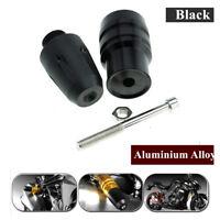 New 1pc CNC Alloy Black Motorcycle Exhaust Crash Pad Protector Pad For Kawasaki