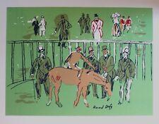 Raoul Dufy Lithograph Jockey At Track Rare Older Artwork