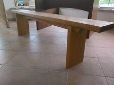 Panca Panchina in legno al naturale o 7 colori ANCHE SU MISURA