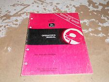 John Deere 8850 Tractor Operator's Manual Om-Rw16848
