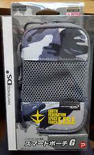 Gundam EFSF branded Nintendo DSi console case NEW & SEALED CAMO print zipped