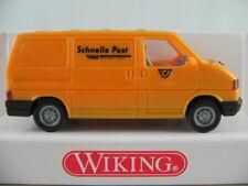 """Wiking 29502 VW T4 Transporter (1990) """"EMS (A)"""" in chromgelb 1:87/H0 NEU/OVP"""