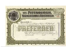 Pittsburgh Youngstown and Ashtabula Railway Company