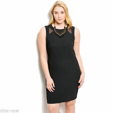 Shift Knee-Length Plus Size Dresses for Women
