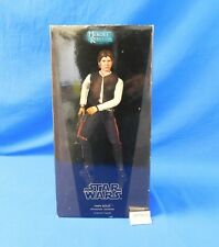 Han Solo 1:6 Scale Figure Star Wars Heroes of the Rebellion Sideshow Coll in Box