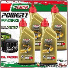 KIT TAGLIANDO OLIO CASTROL POWER 1 RACING 5w40 +FILTO HIFLO BMW R1200 RT2014