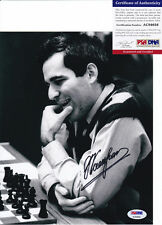 GARRY KASPAROV CHESS GRANDMASTER SIGNED AUTOGRAPH 8X10 PHOTO PSA/DNA COA #2