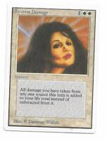 Magic the gathering ~ MTG ~ 1x REVERSE DAMAGE ~ UNLIMITED ~ LP ~ SCANS