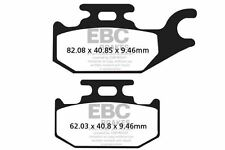 FIT CAN AM (ATV)  Outlander 800 R Xmr 11>12 EBC FRONT ORGANIC BRAKE PADS