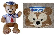 CUSTOM Boutique CROCHETED DISNEY cruise DUFFY BEAR Hat Beanie