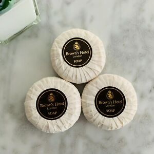 Brown's Hotel London Collectible Room Bath Soaps Vintage Wrapped (3)