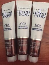 3 CLAIROL NICE N EASY CC+ COLORSEAL Hair CONDITIONER REVITALISANT FOR BRUNETTES