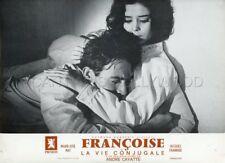 MARIE -JOSE NAT JACQUES CHARRIER LA VIE CONJUGALE 1964 LOBBY CARD ORIGINAL #13