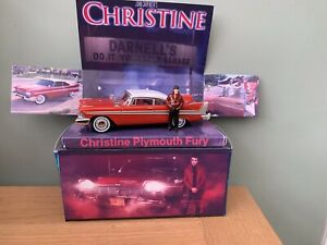 Christine Plymouth Fury Code 3  1/43 Scale With Figure