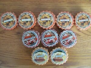 Brand New, Unopened, Lot of 10 Yankee Candle Tart Wax Melts