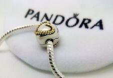 Genuine Silver Charm 925 plata ley 100% clip corazon   y regalo bolsa pandora