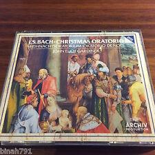 BACH, WEIHNACHTE-ORATORIUM, BWV 248, GARDINER, 2 CD ARCHIV