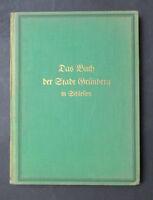 Busse / Stein DIE STADT GRÜNBERG IN SCHLESIEN 1928 Zielona Góra