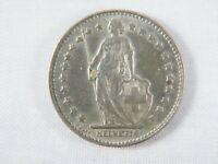 Moneda Suiza Helvetia 1 Franco 1961 | World Coins Silver