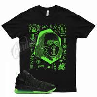 BEN FRANK T Shirt for Lebron 18 Dunkman Volt Green 7 8 9 10 11 12 Dunk Man