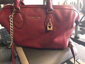 Michael Kors Duffle Bag - Red