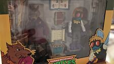 NECA Target Exclusive TMNT Cartoon Figures SPLINTER & BAXTER STOCKMAN