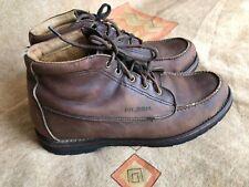Filson Brown Uplander Chukka Shoe Boots Mens Hunting Hiking Moc Sz 12 D