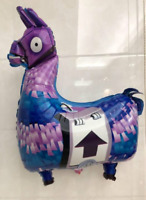 NEW PINATA LLAMA Alpaca Birthday Video Game Foil Balloon Party Supplies Battle