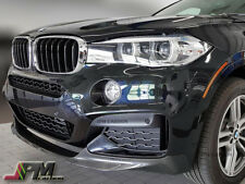 P Style Carbon Fiber Front Bumper Lip For BMW F16 X6 (SAV) w/ M Sports Package