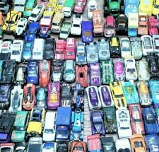 Hot Wheels Mixed Loose Lot of 134 Diecast Cars, Trucks, Vintage and Other Brands