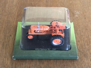 Hachette Scale Model Tractor 1/43 Diecast ALLIS-CHALMERS WC - 1945 VGC SEALED