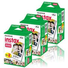 Fujifilm Instax Mini (3 TWIN PK) 60 disparos de películas instantáneas para 50s 7s 8 9 90 Cámara