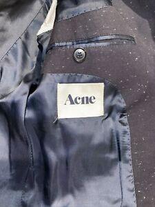 Acne Mens Blazer Jet Fleck Colour Size:50